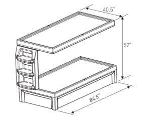 Bunk Bed Dimensions (EN 6000–20)