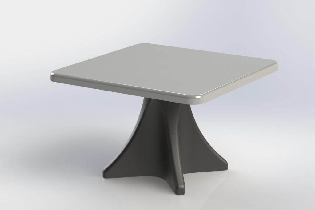 Ligature Resistant Estilo Dining Table
