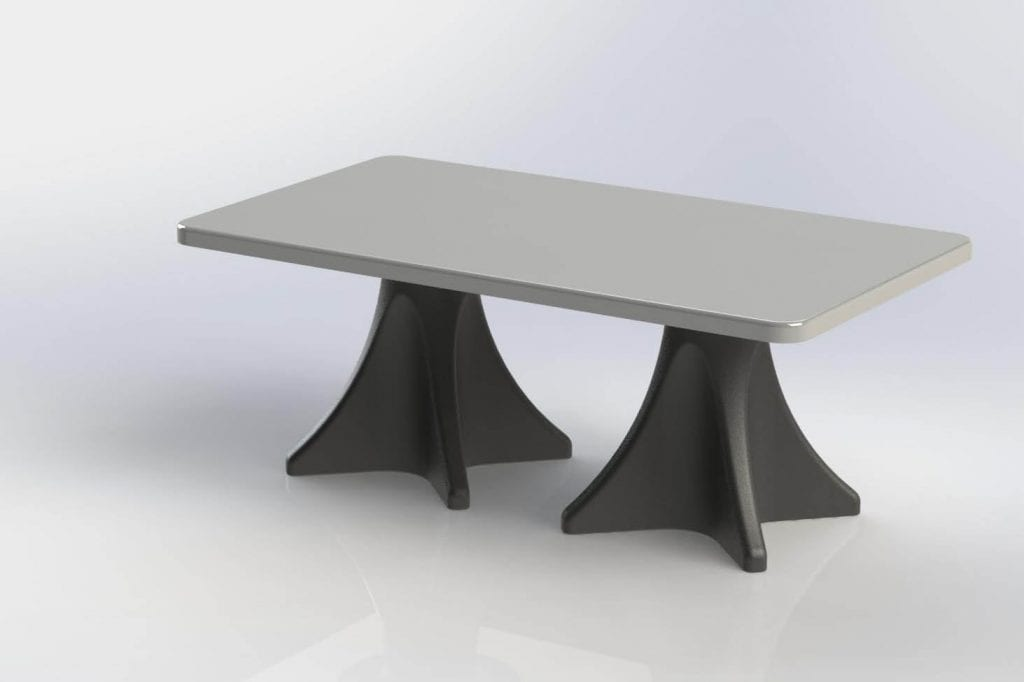 Estilo extended Dining Table
