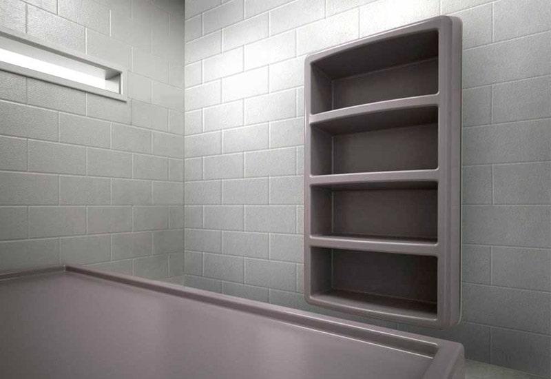 Max-Secure's Four Shelf Storage at Juvenile Justice Center