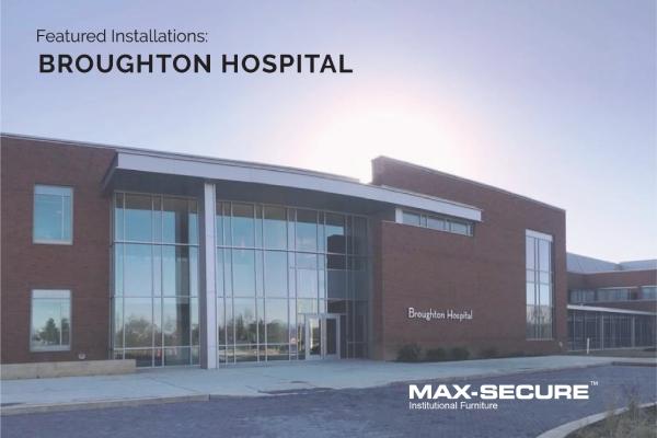 Broughton Hospital installation blog