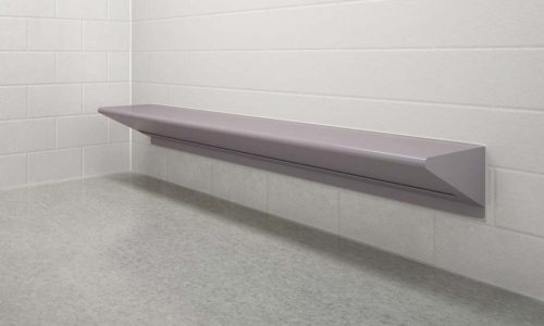 Max-secure Bench installed in Prison Cell